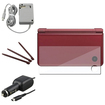 eForCity - For Nintendo Dsi LL/XL 3-LCD Film Guard + Car + Travel Charger + 3 Wine Stylus