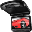 Boss - 9-Inch Widescreen TFT Flip-Down Monitor/DVD Combo IR Transmitter (New for 2013) - Black