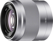Sony - 50mm f/1.8 OSS Prime Lens for Select Sony Alpha E-mount Cameras - Silver