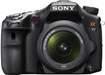 Sony - Alpha a77 DSLR Camera with 16-50mm Lens - Black