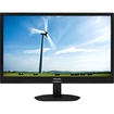 "Philips - 22"" LED LCD Monitor - 16:10 - 5 ms - Textured Black"