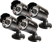 Swann - Multi-Purpose Day/Night Security Camera 4 Pack - Multi