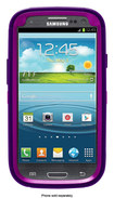 OtterBox - Defender Series Case for Samsung Galaxy S III Cell Phones - Pop Purple Transparent/Violet Purple - Pop Purple Transparent/Violet Purple
