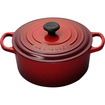 Le Creuset - 3 1/2 qt. Round French Oven - Cherry - Cherry