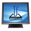 "TouchSystems - 19"" LCD Touchscreen Monitor - Black - Black"