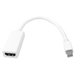 AGPtek - Mini DisplayPort to HDMI Adapter Cable for Apple Macbook Pro iMac - White - White