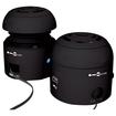 AGPtek - 2.0 4 W Home Audio Speaker System - iPod Supported - Black - Black