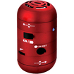 AGPtek - Mini Portable USB Mobile Device Speaker for Kindle Fire HD - Red - Red