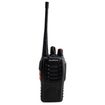 AGPtek - Digital Two Way Radio Walkie Talkie Outdoor Indoor with Belt Clip - Black - Black