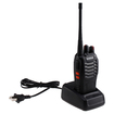 AGPtek - Two Way Radios Walkie Talkie With 1500mAh Rechargeable Battery Charger Station - Black - Black