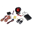 AGPtek - LED Car Alarm Protection Anti-Thief Security System with 2 Remote Controllers