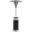AZ Patio Heaters - AZ Patio Heater and Black with Table - 87 in. - Black, Stainless Steel