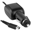eForCity - Car Charger Compatible with Nintendo 3DS XLi, Black