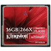Kingston Technology - 16GB Ultimate CompactFlash Card 266x