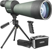 Barska - Benchmark 25-125 x 88 Spotting Scope - Green/Gray
