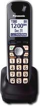 Panasonic - DECT 6.0 Plus Digital Cordless Expansion Handset for TG4000 Series Phone Systems - Black