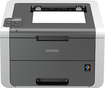 Brother - HL-3140CW Wireless Color Laser Printer - Gray/White