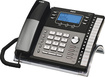 RCA - 25424RE1 Corded Expandable Phone System - Black/Gray