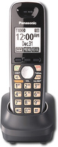 Panasonic - DECT 6.0 PLUS Expansion Handset for Panasonic Kx-Tg6500 Expandable Phone System - Black