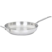 "Cuisinart - Chef's Classic™ Stainless 12"" Open Skillet with Helper Handle - Stainless Steel"