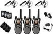 Motorola - Talkabout 35-Mile, 22-Channel FRS/GMRS 2-Way Radio (3-Pack) - Silver
