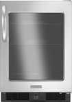 KitchenAid - 5.6 Cu. Ft. Frost-Free Compact Refrigerator - Stainless/Stainless look