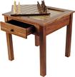 Trademark - 3-in-1 Chess/Backgammon Table
