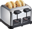 Hamilton Beach - Classic Chrome 4-Slice Wide-Slot Toaster - Chrome