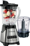 Hamilton Beach - 2-Speed Blender/Chopper - Black