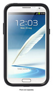 OtterBox - Commuter Series Case for Samsung Galaxy Note II Cell Phones - Black - Black
