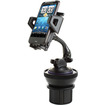 USA Gear - Universal Car Cup Holder & Windshield Suction Car Mount for Smartphones