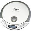 Naxa - CD Player, - Gray, Silver - Gray, Silver