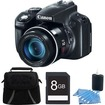 Canon - Powershot SX50 HS 50x Zoom High-Performance Camera 8GB Bundle