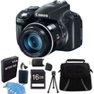 Canon - Powershot SX50 HS 50x Zoom High-Performance Camera 16GB Bundle