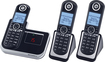 Motorola - DECT 6.0 Expandable Cordless Phone System with Digital Answering System - Black