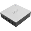 SIIG - USB 3.0 & 2.0 7-Port Hub with 5V/4A Adapter - Black, Silver