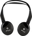 Able Planet - True Fidelity On-Ear Wireless Headphones - Black