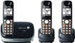 Panasonic - DECT 6.0 Cordless Phone with Call-Waiting Caller ID