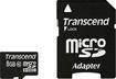 Transcend - 8GB microSD High Capacity (microSDHC) Card
