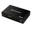 Transcend - RDF8 USB 3.0 Flash Card Reader - Black