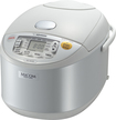 Zojirushi - Micom 5-1/2-Cup Rice Cooker and Warmer - Pearl White