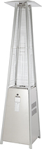 Fire Sense - Pyramid Flame Heater - Stainless-Steel