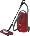 Panasonic - HEPA Canister Vacuum - Burgundy