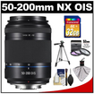 Samsung - 50-200mm f/4.0-5.6 NX ED OIS II Tele Zoom Lens with 32GB SD Card + 3 (UV/FLD/CPL) Filter + Tripod