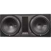 Rockford Fosgate - P2-2X12 12 Dual P2 Loaded Subwoofer Enclosure - Black