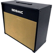 Seismic Audio - 1x12 GUITAR SPEAKER CAB EMPTY 12 Cabinet - Vintage - Black, Wheat - Black, Wheat