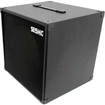 Seismic Audio - 1x12 GUITAR SPEAKER CAB EMPTY 12 Cube Cabinet - Tolex - Black - Black