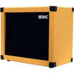 Seismic Audio - 12 GUITAR SPEAKER CABINET EMPTY 1x12 Cab - Tolex - Black, Orange - Black, Orange