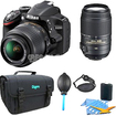 Nikon - D3200 Digital SLR Camera & 18-55mm G VR DX AF-S & 55-300mm VR Zoom Lens