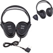 Image Entertainment - Noise Cancelling Headphone Laptops/MP3/iPod/DVD Player - Black - Black